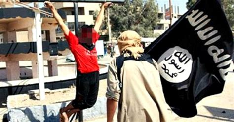 isis sliced off syrian boys fingertips in failed bid to syria isis beheads and crucifies 12 christians who