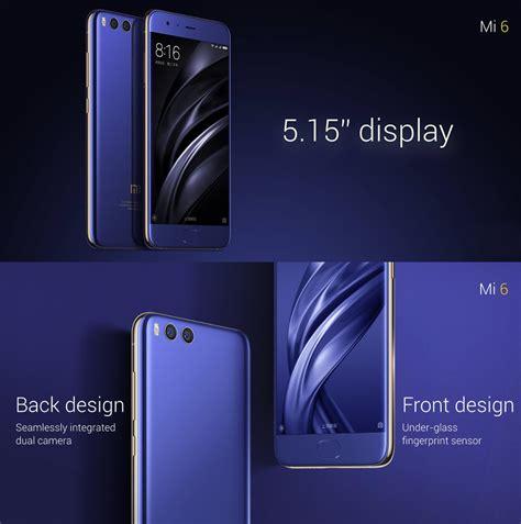 Xiaomi Mi6 Mi 6 Ram 6gb Rom 64gb xiaomi mi6 mi 6 5 15 inch 6gb ram 64gb rom snapdragon 835
