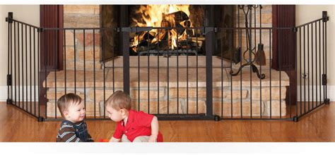 Baby Proof Fireplace Gate by Beyond Babyproofing Fireplace Safety Tips And Hearth