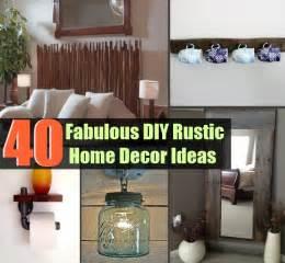 Rustic Diy Home Decor 40 Fabulous Diy Rustic Home Decor Ideas Diycozyworld Home Improvement And Garden Tips