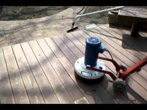 onfloor  sanding deck        youtube