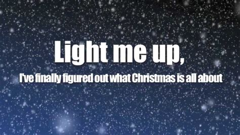 owl city light of christmas ft tobymac lyric video