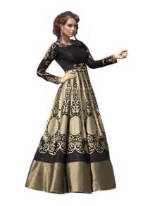 floor length designer gown type anarkali salwar suit