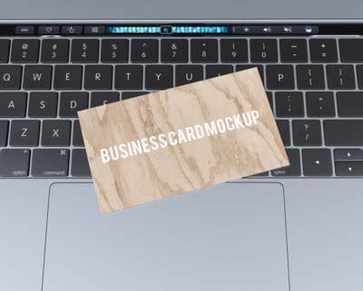 Business Card Templates For Macbook Pro by Business Card Mockup Mockup Templates Images Vectors