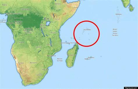 seychelles map indian seychelles