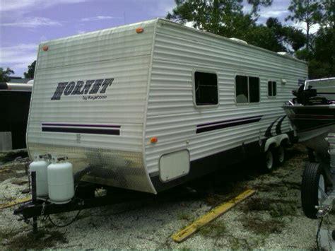 travel trailer with garage 2005 27ft hornet travel trailer in durbincrossing s