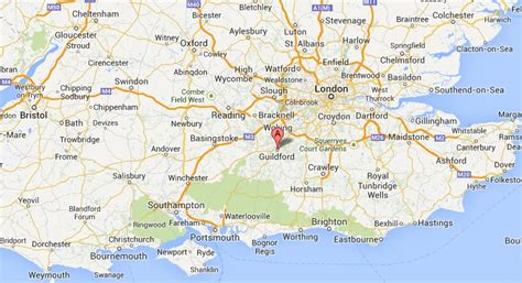 map uk south image gallery southern