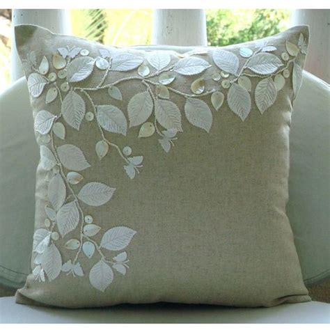 cushion covers for sofa pillows cotton linen of pearls and pillow covers on