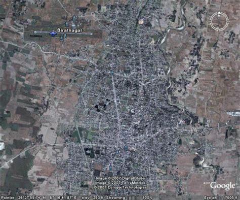 biratnagar map maps of nepal biratnagar