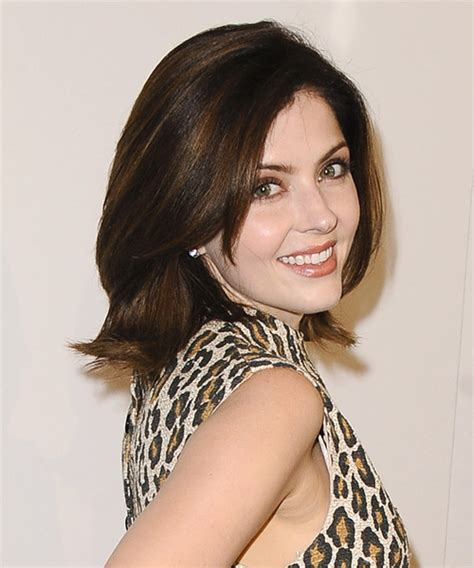 whats jen lilley natural hair color jen lilley medium straight formal hairstyle