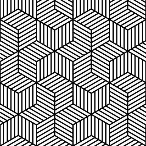 a. from a book or print black and white / pattern design