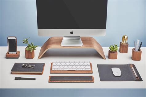 Mac Desk Accessories by Grovemade Wooden Iphone Cases Desk Mac Accessories