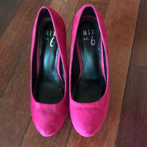 mix no 6 shoes 58 mix no 6 shoes mix no 6 pink suede 5 inch