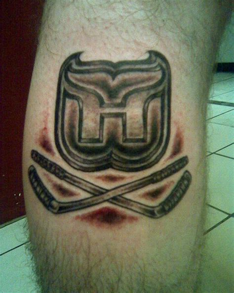 tattoo convention hartford hartford whalers tattoo hockey tattoo picture at