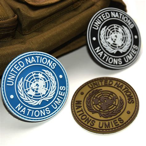 Rubber Patch Un United Nations un united nations u n shoulder patch tactical army