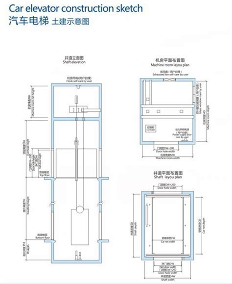 Automated Parking Car Lift Car Elevator Garage Elevator