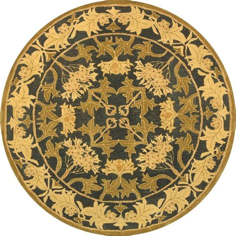 Safavieh Anatolia Navy Sage 8 Ft X 8 Ft Round Area Rug Rugs 8 Ft