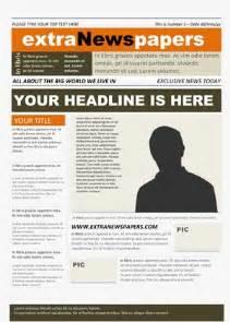 microsoft word newspaper template extranewspapers