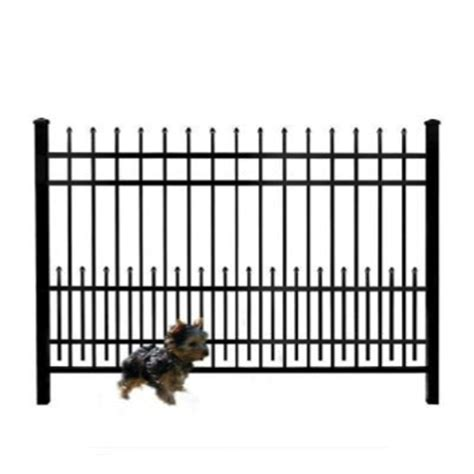 Fence And Deck Direct by Puppy Guard 24 Quot X 72 Quot Black Puppy Guard Add On Panel