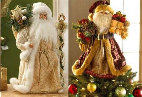 santa christmas tree toppers    beautiful designs