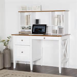 Acrylic Bookcase Furniture White Desk With Drawers And Shelves For House