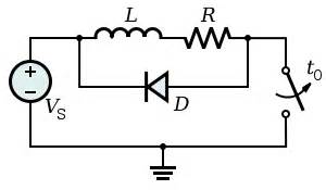 best free wheeling diode design the flyback diode and its applications electrical engineering stack exchange