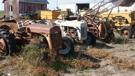 ford 8n and ford 9n tractors parting out all parts