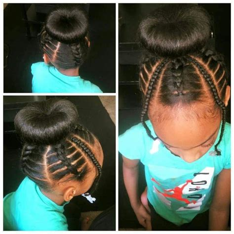 Kid Ponytail Hairstyles by 1376 Best Black Hair Images On