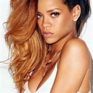 Ruiva A 50 Tons De Cabelo De Rihanna Cores Para Negras E Morenas » Ideas Home Design