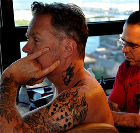 james hetfield tattoos tattoo collections
