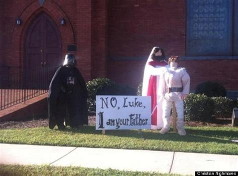 halloween themes for church church s halloween display is awesome photo huffpost