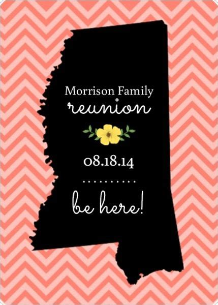 25 Best Family Reunion Invitations Ideas On Pinterest Reunion Save The Date Templates