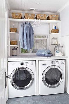 Small Laundry Hers Laundry Room Floating Shelves I Really Like That Of Wood The Washer Dryer