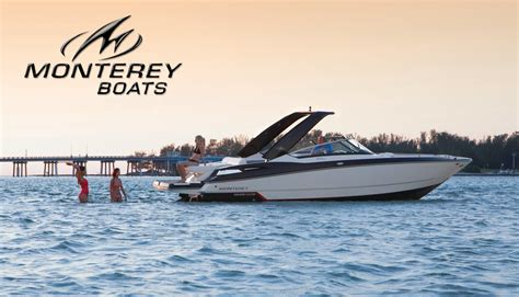 monterey boat dealers monterey boats welcomes new dealer just add water boats