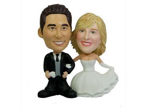 bobblehead wedding favors wedding cake toppers bobbleheads wedding cake toppers