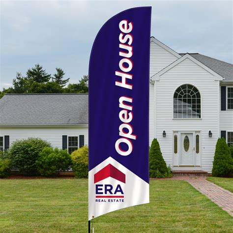 real estate open house flags independent real estate signs for sale open house and more dee sign