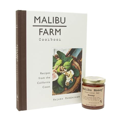 malibu gift set gift set malibu farm cookbook and malibu honey the