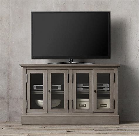 Gray Media Cabinet by Casement Grey Media Console
