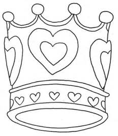 coloring crowns free crowns and tiaras coloring pages