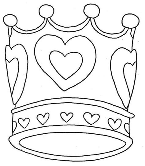 coloring page crown 15 crown coloring page to print print color craft