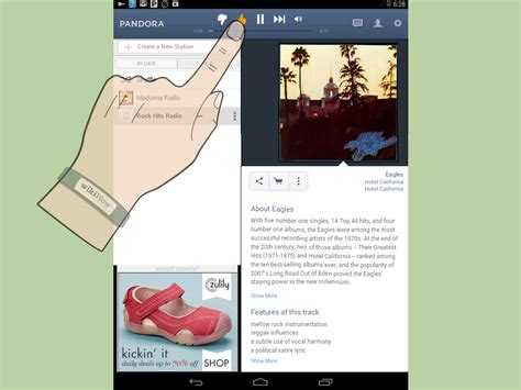 how to from pandora on android how to use pandora on android 5 steps with pictures wikihow