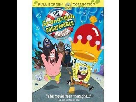 opening to the spongebob squarepants movie (2004) on st