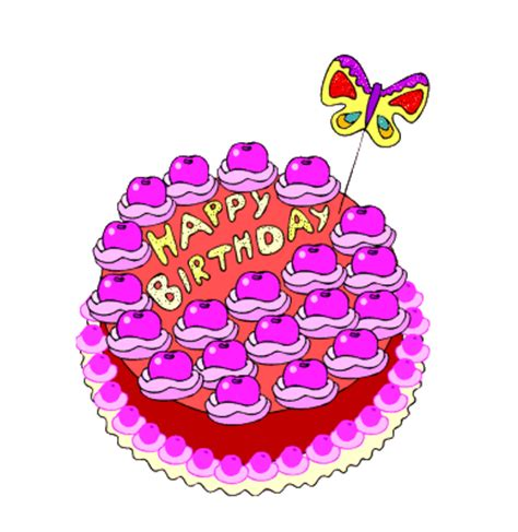 pictures animations happy birthday myspace cliparts