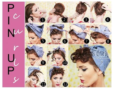Pin Up Hairstyles With Bandana by 17 Vintage Hairstyles With Tutorials For You To Try