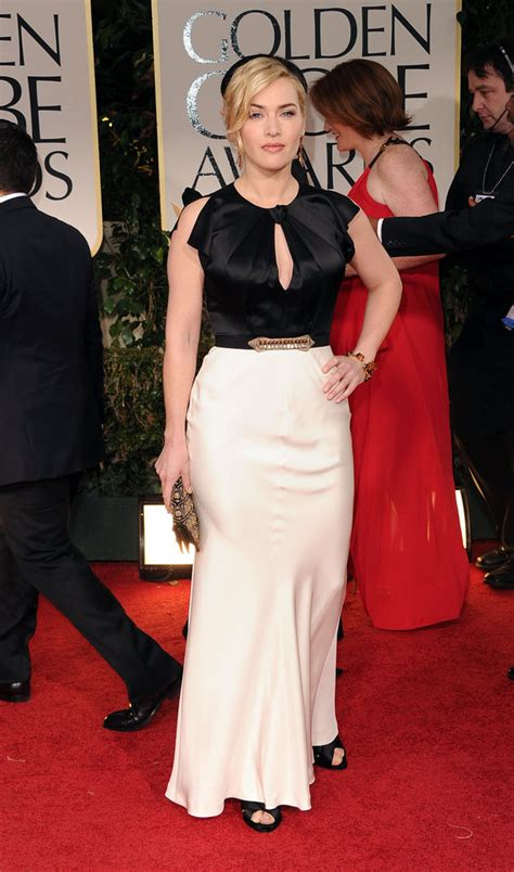 Kate Winslet At The Golden Globes by Kate Winslet Pictures At Golden Globes 2012 Popsugar