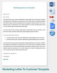 Sle Customer Satisfaction Letter by Marketing Letter Template 38 Free Word Excel Pdf Documents Free Premium Templates