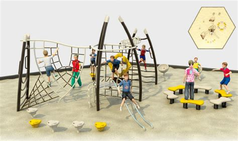 New Product Climbing Net Play Games Playground Equipment