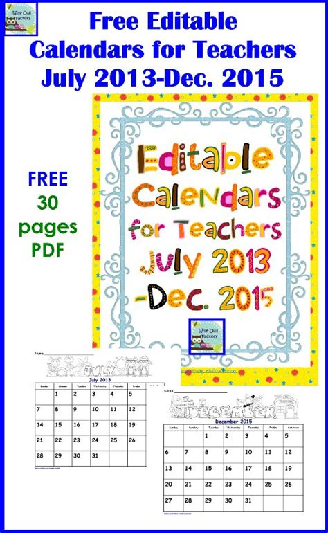 printable calendar resources 2u 53 best images about calendars journals goal setting