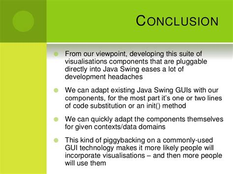 java swing reference re architecting visualisations in java swing