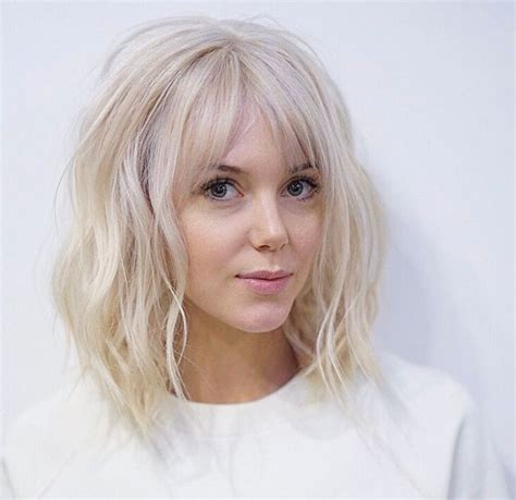 blonde hair is usually thinner 25 best ideas about cut bangs on pinterest bangs